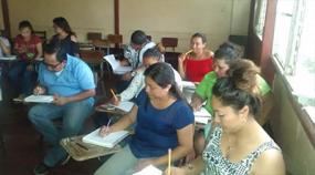 Estudiantes del Departamento de Educación y Humanidades participan en Cátedra a la Excelencia.
