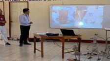 Docentes de FAREM-Carazo desarrollan Taller de Micro Robótica Educativa